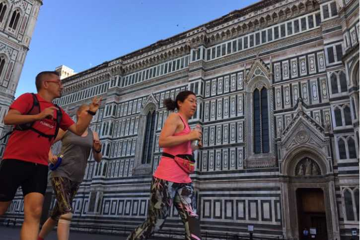 Must see running tour in Florence - 6km