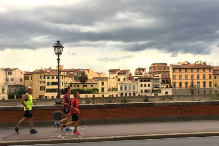 Florence Running tour 10 km - Run with a view