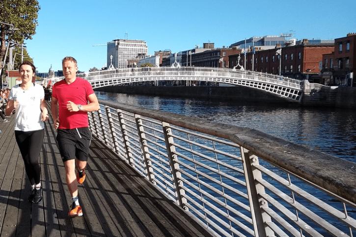 Dublin City Highlights running tour - 10 km